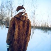 Sara Svonni design Tärnaby renskinn kläder ull fjäll sameslöjd
